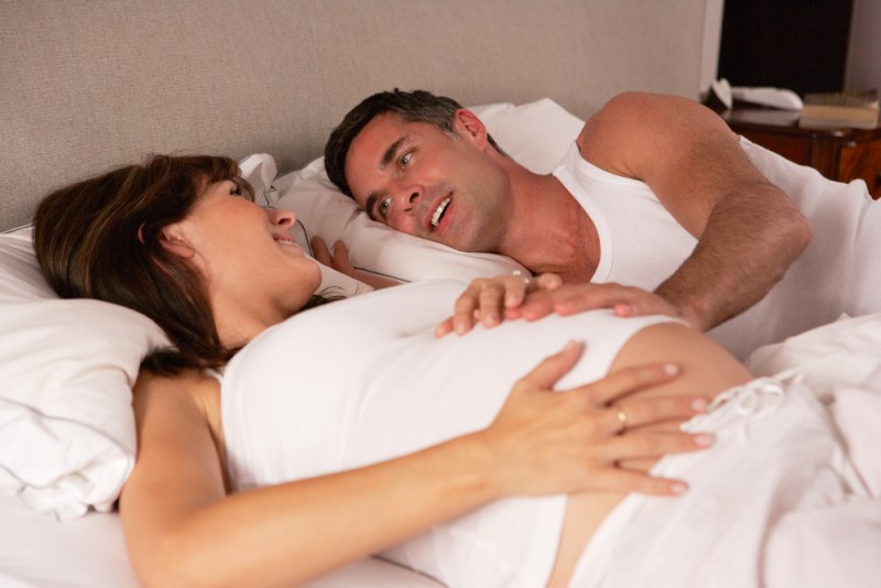 Занятие сексом на 34нед беременности очень вредно и опасно